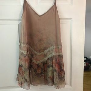 Haute hippie dress  xs silk